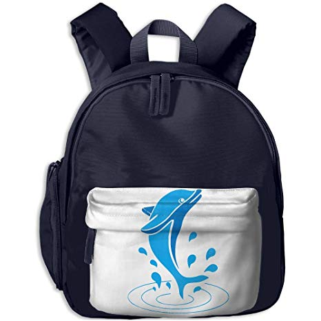Amazon Com  Pocket Design Bagdolphin Splash Dance Childrens'bag