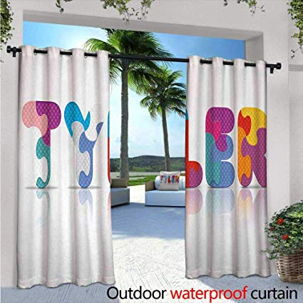 Amazon Com   Tyler Exterior Outside Curtains Composition Of