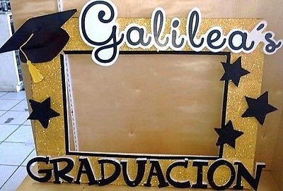 Graduation Party Photo Booth Selfie Frame Personalized 40 X29