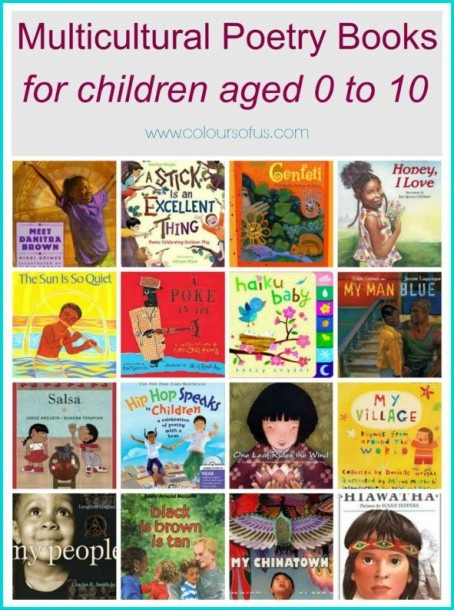 Multicultural Poetry Books For Children, African Asian Hispanic