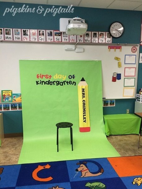 First Day Of School Photo Booth