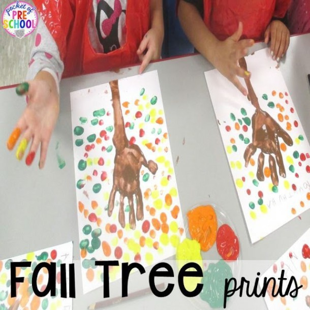 Fall Themed Activities For Little Learners