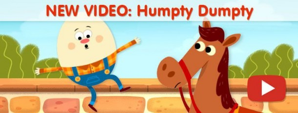 Humpty Dumpty And Other Simple Nursery Rhyme Videos  Perfect For