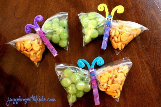 Cute Snack Idea For Spring Class Party