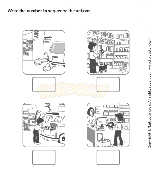 Picture Sequence Worksheet 21