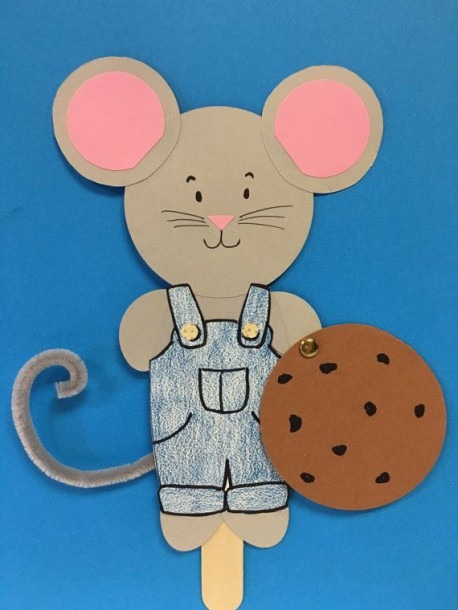 If You Give A Mouse A Cookie Kids Paper Craft By Crafts4kidsshop