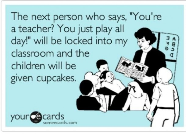 Kindergarten Teacher Sayings