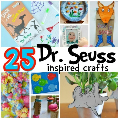 25 Dr  Seuss Inspired Crafts For Preschoolers