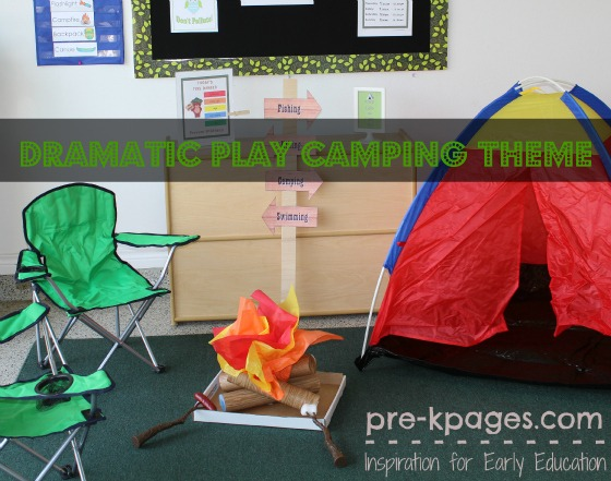 Camping Theme For Classroom