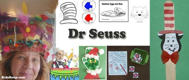 Dr  Seuss Activities, Crafts, And Games