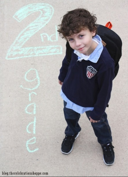 5 Adorable First Day Of School Photo Ideas