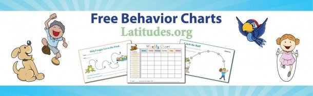 Free Printable Behavior Charts For Home & School