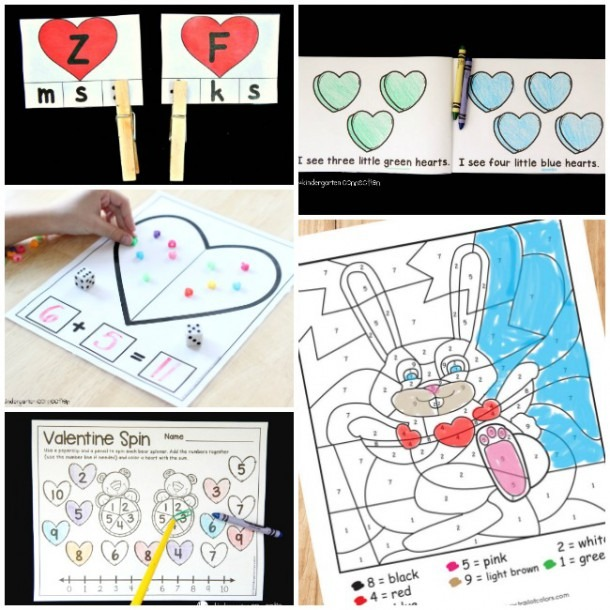 50+ Valentines Day Crafts And Activities For Kids
