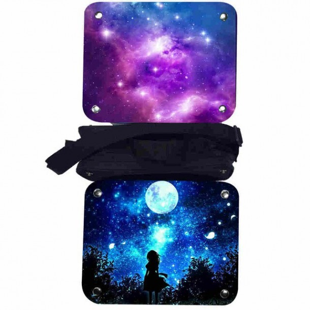 Galaxy Lunch Box Universe Space Solar System Women Men Teenagers