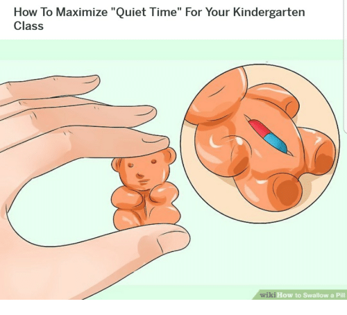 How To Maximize Quiet Time For Your Kindergarten Class Wiki How To