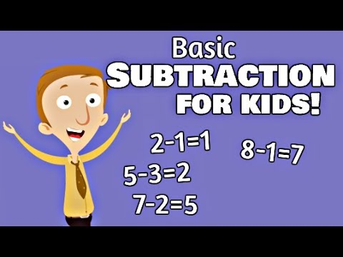 Basic Subtraction For Kids