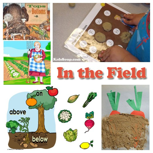 Harvest And Farm Preschool Activities, Games, And Lessons