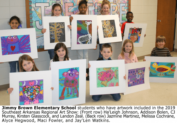 30 Star City Students' Artwork Included In Art Show