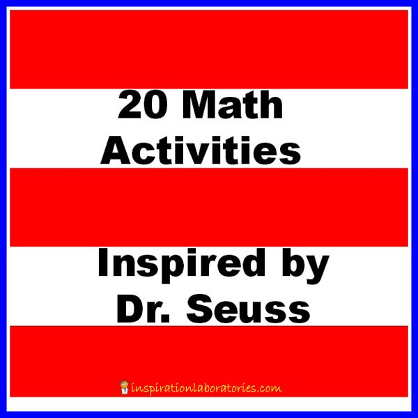 20 Math Activities Inspired By Dr  Seuss