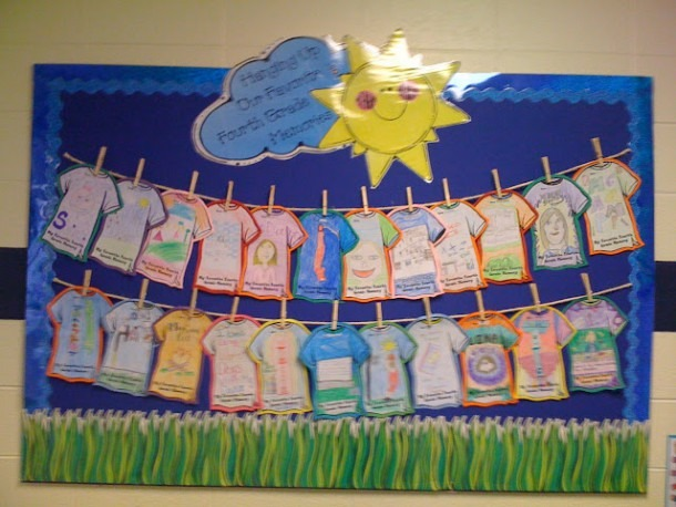 End Of The School Year Bulletin Boards