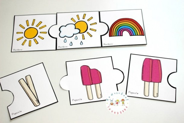 Free Printable Summer Sequencing Cards For Preschoolers