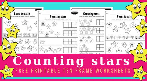 Ten Frame Worksheets For Early Math Learners  Free Printables!
