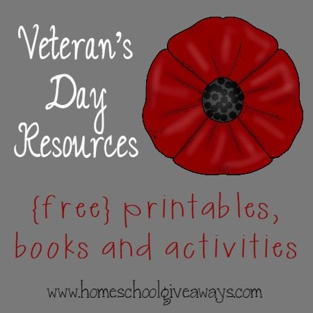 Veteran's Day Resources {free} Printables, Books & More