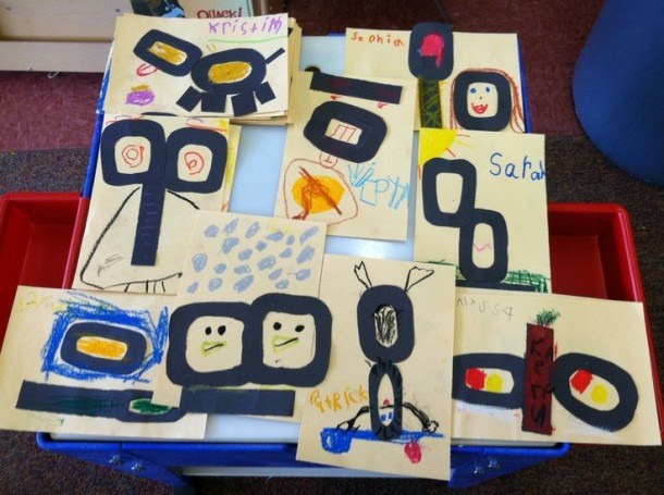 100 Th Day Of Kindergarten Create A Picture Using A 100 In An
