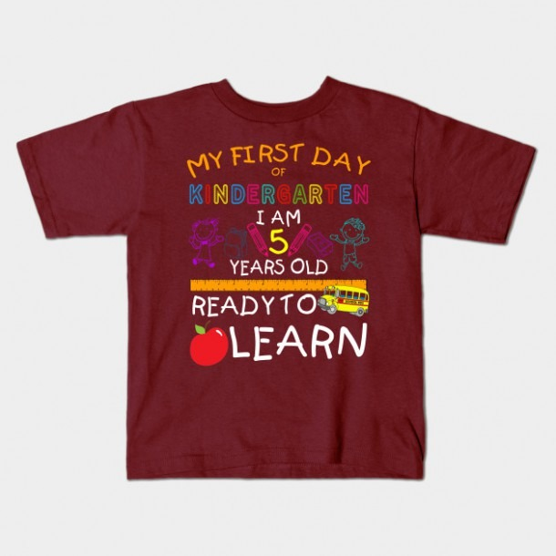 First Day Of Kindergarten Shirt