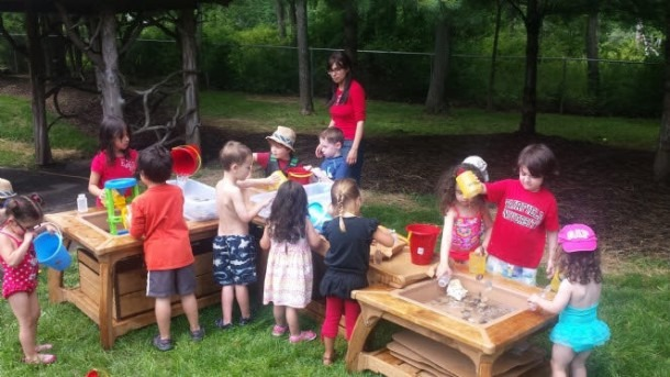 Zimmer Preschool Arts & Nature Camp Adds New Water Play Center To