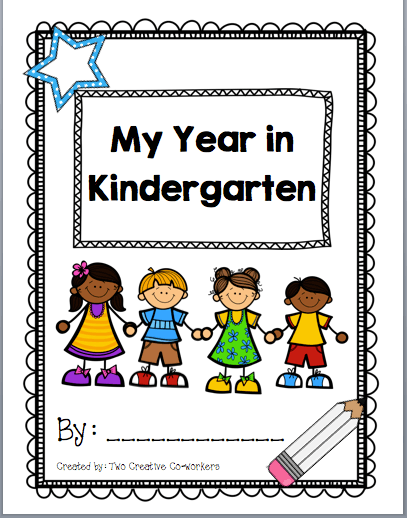 Kindergarten Scrapbook   Memory Book  A Fun Year Of Learning