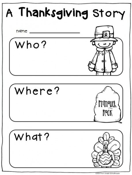 Turkey Trouble Writing Activity For Kindergarten