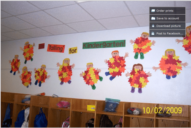 I Just Found This Super Cute Fall Bulletin Board Idea From