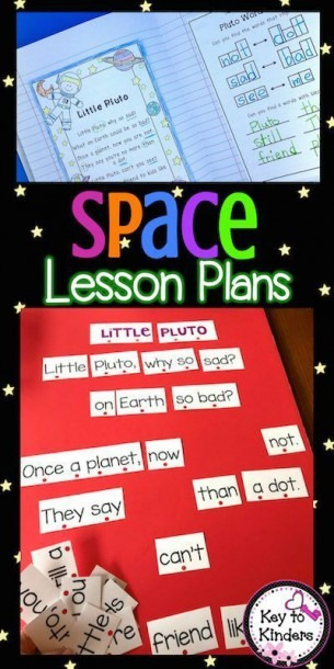 Space Lesson Plans And Centers
