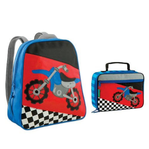 Lunch Boxes For Kids  Stephen Joseph Motocross Backpack And Lunch