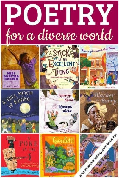 Poetry Books For A Diverse World