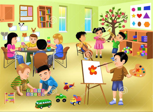 In The Classroom Clipart
