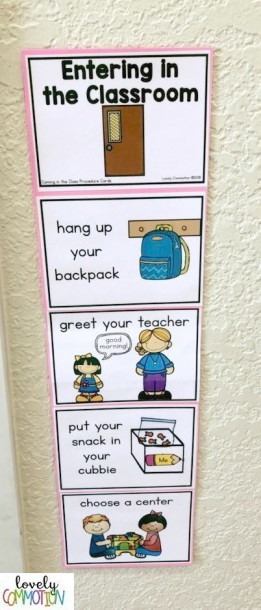 Help Your Students Know What You Expect With Procedure Cards