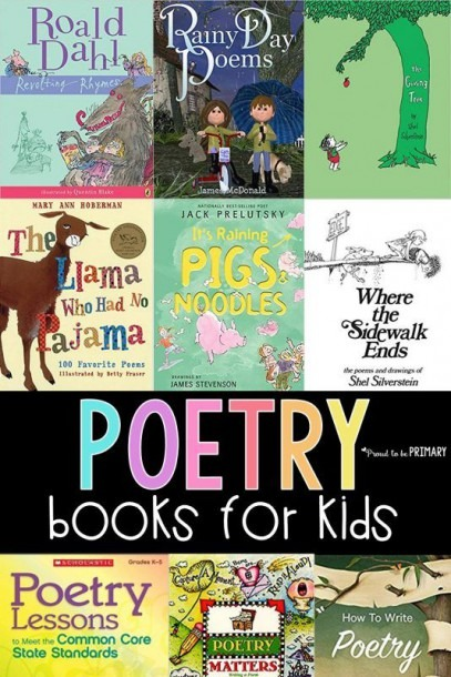 16 Poetry Books For Kids