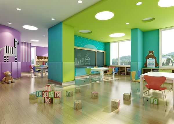 This Is A High Quality Preschool Interior Design For 0