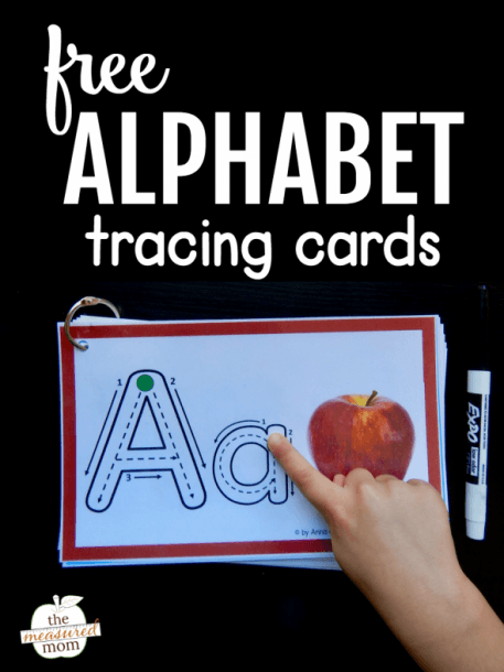 Help Kids Remember Letters With This Free Alphabet Tracing Book