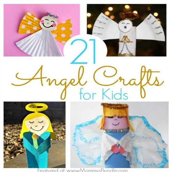 21 Angel Crafts Kids Can Make At Christmas