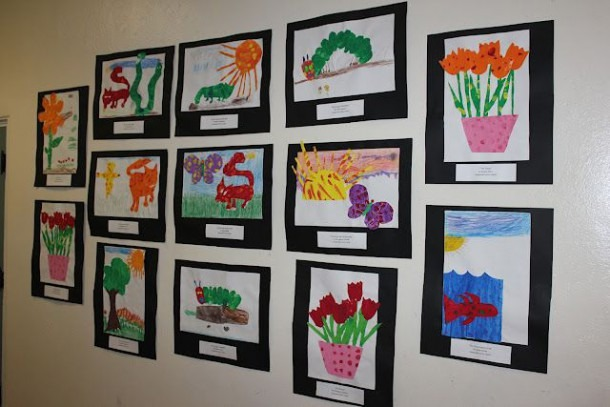 Eric Carle Art Projects