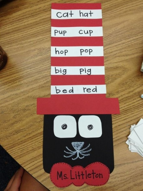 Cat In The Hat Rhyming Words Activity!