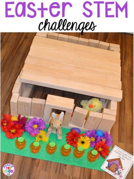 Easter Centers And Activities For Little Learners (peep Freebie