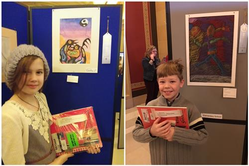 Westonka Students Honored In Youth Art Month Competition