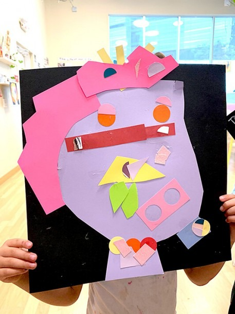 Pablo Picasso Collages Inspire Kids To Explore Identity With Self