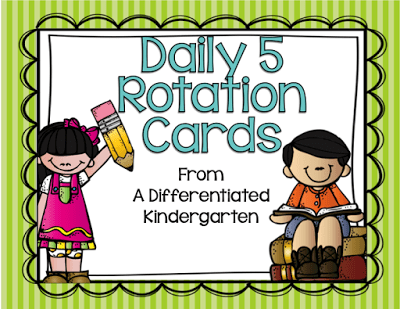 Organizing Daily 5 Literacy Stations In Kindergarten And A