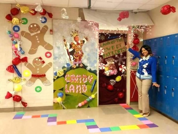 Decorations Ideas For Office Decorating Themes Door Contest