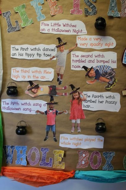 5 Little Witches Acted Out In The Classroom  Helps With Ordinal